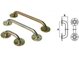 Фланцевое соединение L между входами 130мм