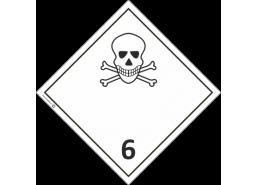 """Знак """"Класс 6 Токсичные вещества"""""""