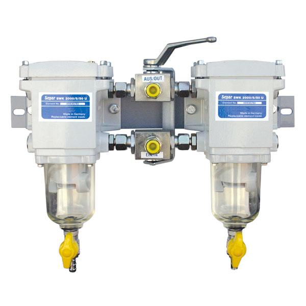 Separ-2000/5/50U для дизеля до 300 л/сил