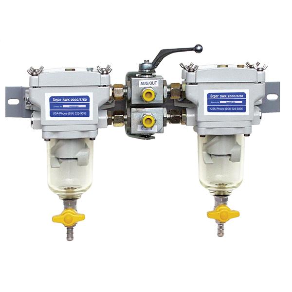 Separ-2000/5U для дизеля до 300 л/сил