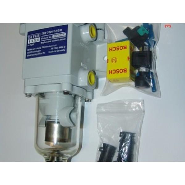 Separ-2000/10/Н/24V/300W c подогревом топлива 24B