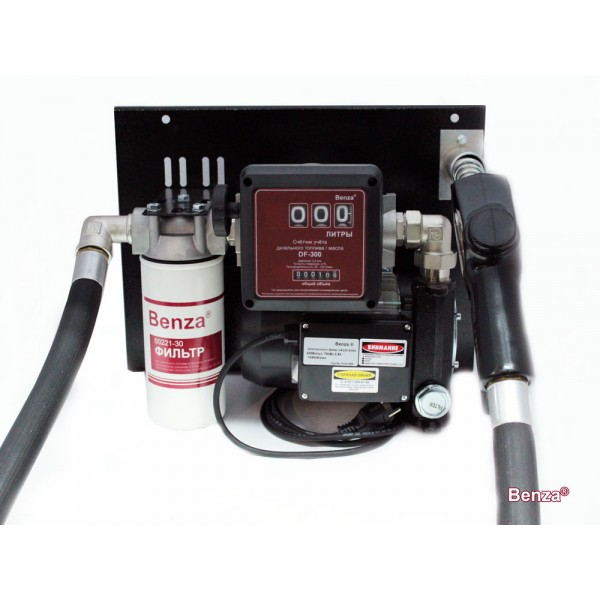 Мини ТРК Benza 24-220-93ФР для перекачки дизельного топлива