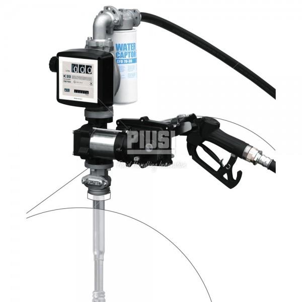 Насос для бензина DRUM EX50 12V ATEX /MAN/F/4MT/K33/CABLE