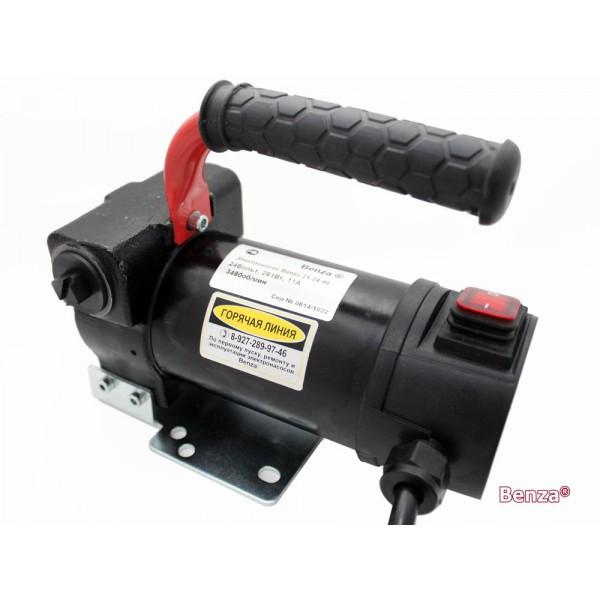 Насос Benza 21-24-60 для перекачки дизельного топлива