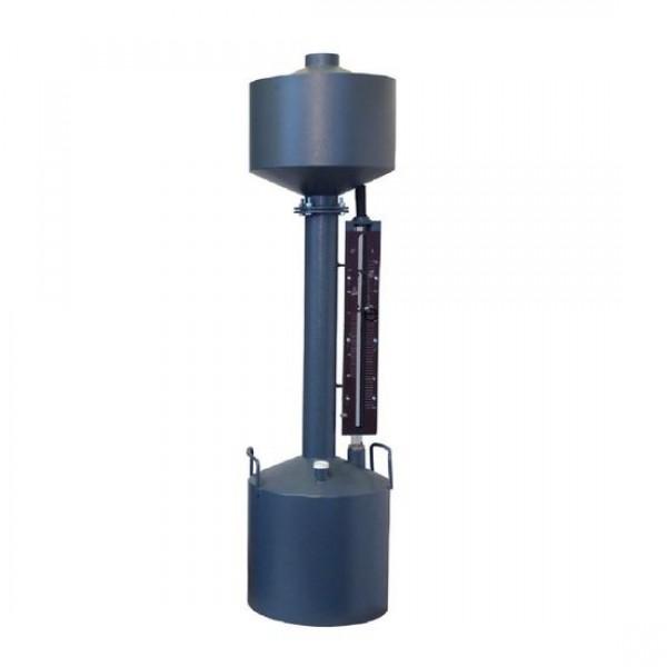 Мерник 2-ого разряда из углеродистой стали М2Р-10-01П, пеногаситель, верхний слив