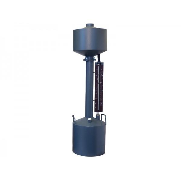 Мерник 2-ого разряда из углеродистой стали М2Р-10-СШ, пеногаситель, спецшкала, верхний слив