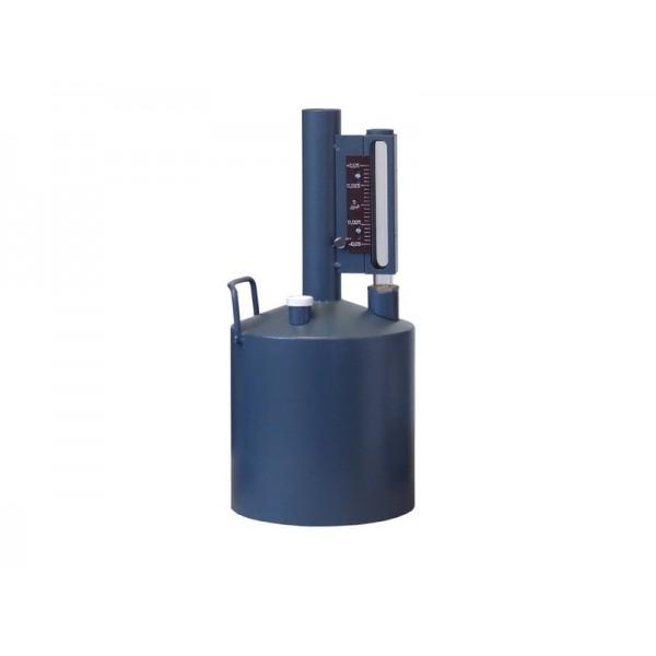 Мерник 2-ого разряда из нержавеющей стали М2Р-5-01, без пеногасителя, верхний слив